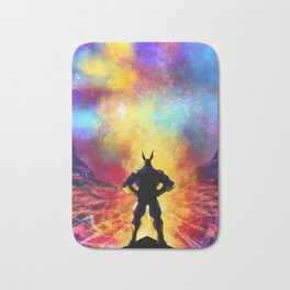 My Hero Academia Inspired Painting | ALL MIGHT Bath Mat