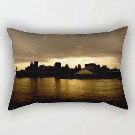 Centre ville de #montreal Rectangular Pillow