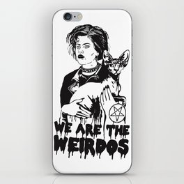 We Are The Weirdos, Mister iPhone Skin