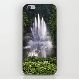 Butchart Garden Fountain iPhone Skin