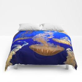 Sea Nettles Comforters