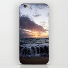 ocean  sunrise iPhone Skin