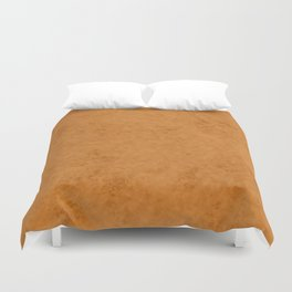 Yellow suede Duvet Cover