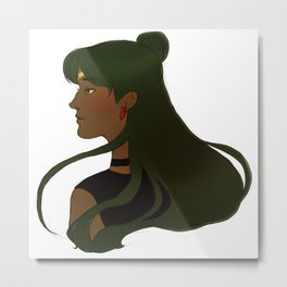 Sailor Pluto Metal Print