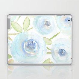 Watercolor Blues Laptop & iPad Skin