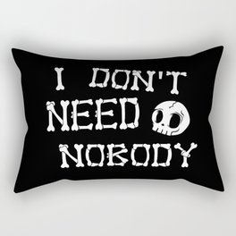 No body Rectangular Pillow