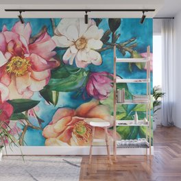 Tropical Floral I Wall Mural