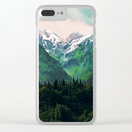 Escaping from woodland heights IV Clear iPhone Case
