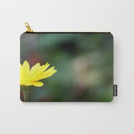 yellow flower. Carry-All Pouch