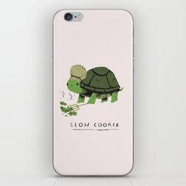 slow cooker iPhone Skin