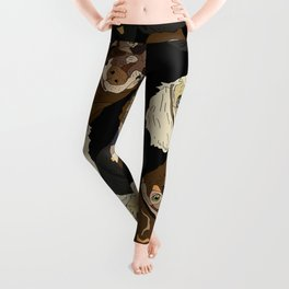 Triple Doxies Leggings