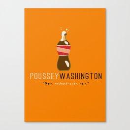 Poussey (Orange) | Nein | OITNB Canvas Print