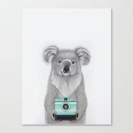 This Koala is a Tourist / Este Koala es un Turista Canvas Print
