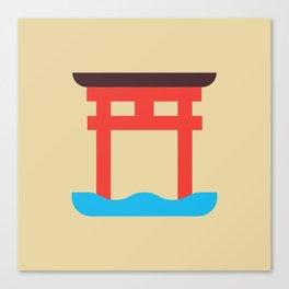 Japan Torii Canvas Print