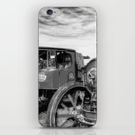 Steam Lorry And Traction Engine iPhone Skin