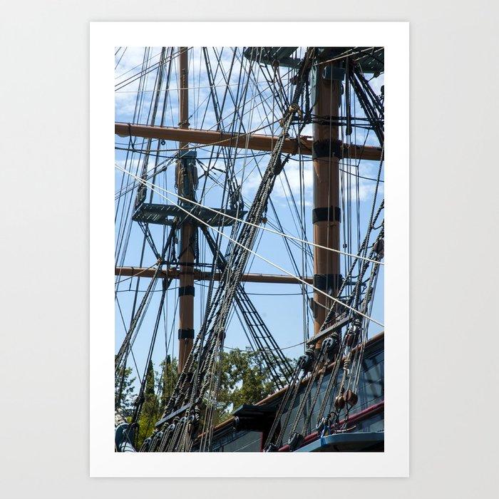 Pirates! Art Print