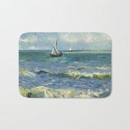 Van Gogh Seascape Bath Mat