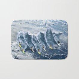 Surfing the Earth Bath Mat
