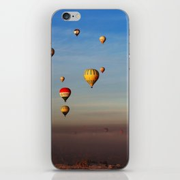 Fairytale dreams of hot air balloons iPhone Skin