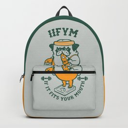 IIFYM (If It Fits Your Mouth) Backpack