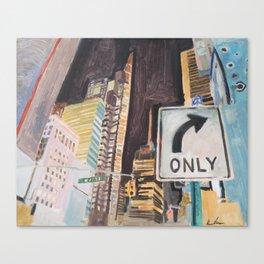 47 street Canvas Print