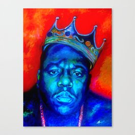 """Biggie Smalls"" Canvas Print"