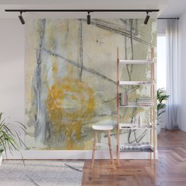 Abstract Sunset Wall Mural