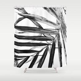 MONOCHROME BOTANICALS Shower Curtain
