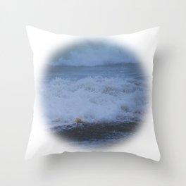 Dream Waves Throw Pillow