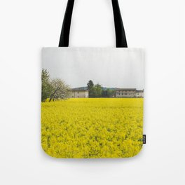 Rape field Tote Bag