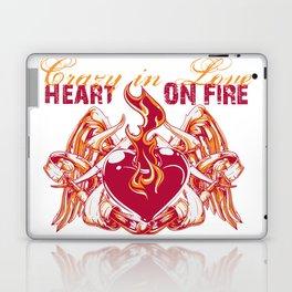 Crazy in love Laptop & iPad Skin