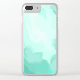 Mist Clear iPhone Case