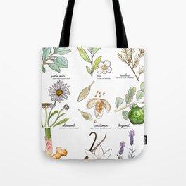 tea botanicals | series Tote Bag