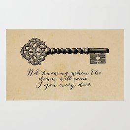 Emily Dickinson - I Open Every Door Rug