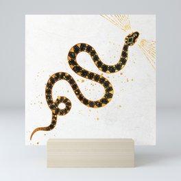 Dark Snake Inktober :: Sleep Copiously Mini Art Print