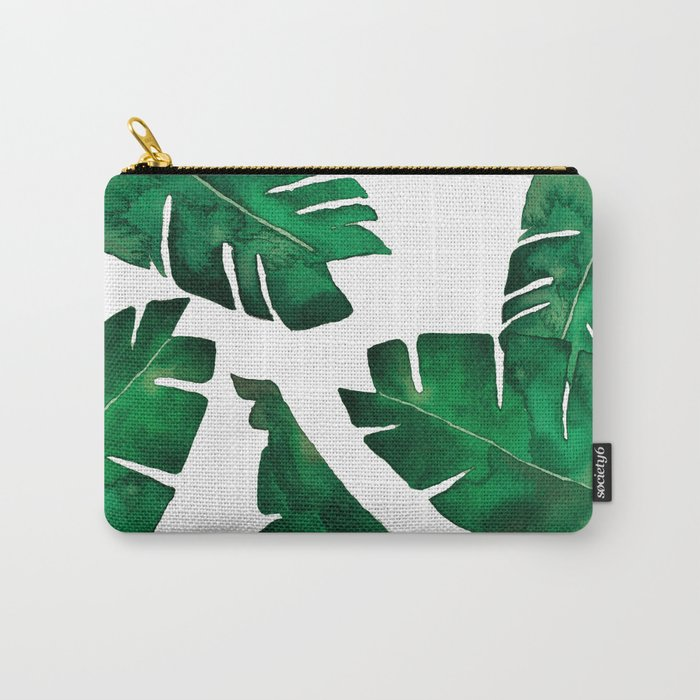 Banana leafs Carry-All Pouch