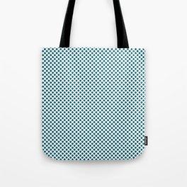 Ocean Depths Polka Dots Tote Bag