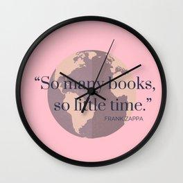 So Many Books, Wall Clock
