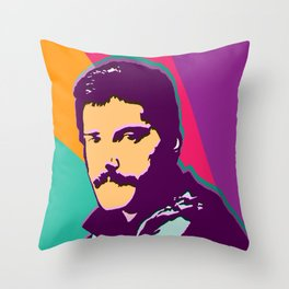 Queen - Freddie M Throw Pillow