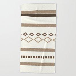 Out West (I) Beach Towel