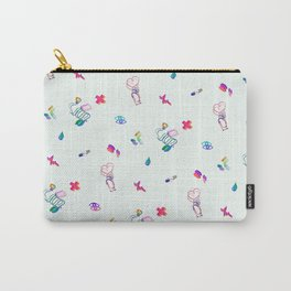 Medical Mania - White Carry-All Pouch