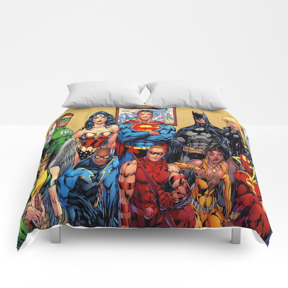 Superman Green Lantern Comic Comforter by Scooby172 CMF4115440