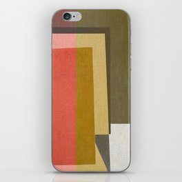 Conflicting Colors iPhone Skin