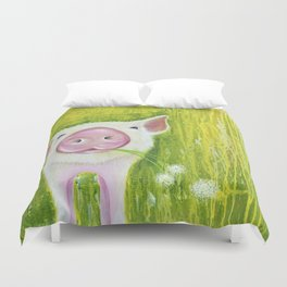 Piggy Duvet Cover