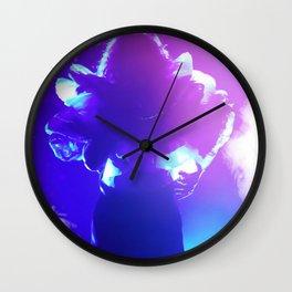 Glam Rock Goddess Photography By James Thomas Ryan Wall Clock