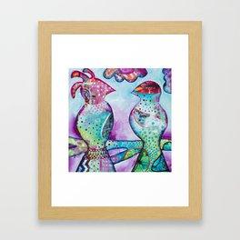 Forest Birds Framed Art Print
