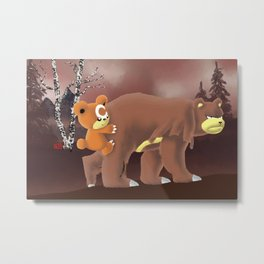 Pokébaers: Have You Seen My Son Anywhere? Metal Print