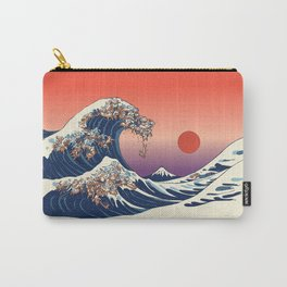 The Great Wave of Dachshunds Carry-All Pouch