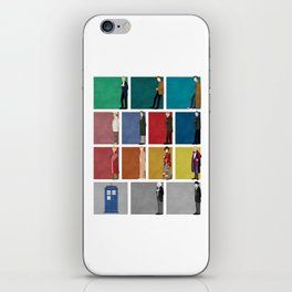 Doctor Who? iPhone Skin