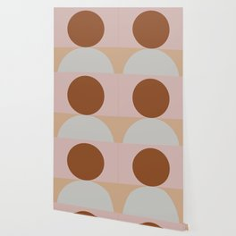 Abstract Geometric #fallwinter #colortrend #decor Wallpaper